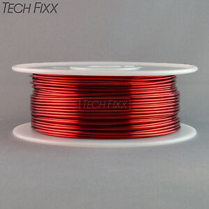 Magnet Wire 14 Gauge Enameled Copper 275 Feet Coil Winding And Crafts Essex Red