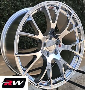 Dodge Charger Oe Replica Challenger Srt Hellcat 20 Inch Staggered Chrome Rims