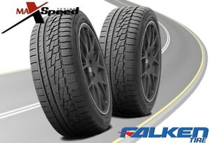 Qty Of 2 Falken Ziex Ze 950 A S 215 60r16 95h High Performance Tires