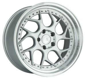 18x9 5 18x10 5 Aodhan Ds01 5x114 3 15 22 Silver Rims new Set