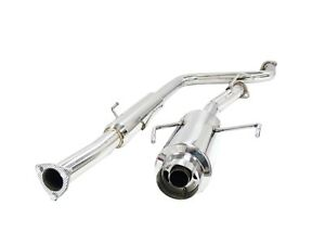 Obx Catback Exhaust For 1997 2001 Honda Prelude H22a Mid Pipe