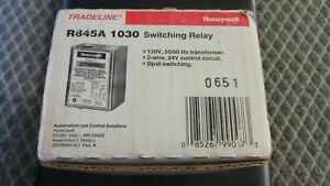 R845a1030 Honeywell Switching Relay 24v Coil Dpst Contactoritching New Old Stock
