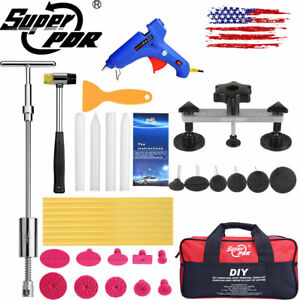 35 Us Pdr Tools Slide Hammer Puller Paintless Dent Repair Lifter Led Line Board