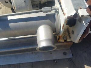 Seepex Cs Series Rcsb Positive Displacement Pump 2 5 In And Out Tri Clamp
