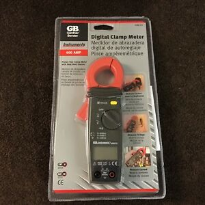 Gardner Bender Gb Digital Clamp Meter 600 Amp Gcm 221 Usa Ac Tester Multimeter