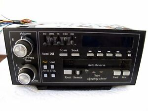89 Cadillac Deville Delco Gm Am Fm Cassette Eq Radio Model 1607 3576 100 Ok
