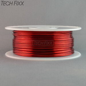 Magnet Wire 12 Gauge Awg Enameled Copper 175 Feet Coil Winding Heavy Build Red