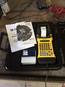 Brady Id Pro Handheld Wire Marker Label Printer Tested W ac Adapter
