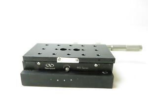 Newport 443 W Micrometer Extended Range Ball Bearing Aluminum Linear Stage