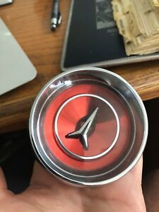 1965 Plymouth Fury Steering Wheel Center Horn Ornament Button 2536274