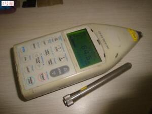 Lcd Injured And Lost Mic Ono Sokki La 5120 22 To 120db Sound Level Meter