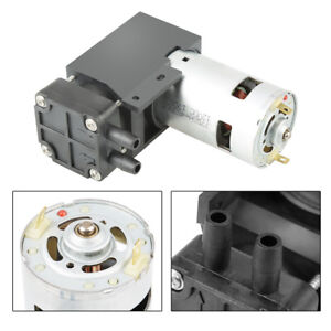 40l min Dc12v 42w Mini Small Oilless Vacuum Pump 85kpa Vacuum Degree Durable