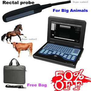 Cms600p2 Vet Veterinary Ultrasound Scanner Machine rectal Probe horse Cow Sheep