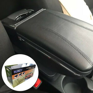 Armrest For Hyundai New Accent Solaris 2 17 18 Centre Black Leather Storage Box