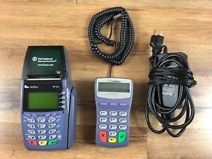 Verifone Vx510 Omni 5100 Pinpad 1000se Credit Card Terminal Pos W Power Adapter