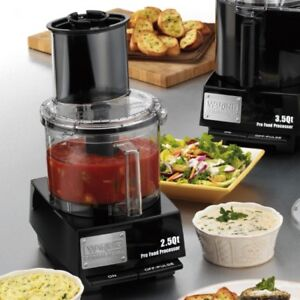 Waring Commercial 2 Qt Food Processor Flat Cover By Cuisinart