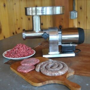 Weston Butcher Series Commercial Grade 5 Electric Meat Grinder 0 35 Hp