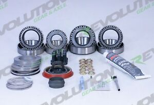 Revolution Gear Axle Gm 8 2 Master Overhaul Kit With Timken Bearings
