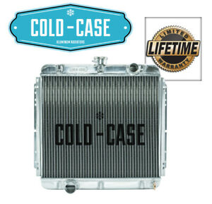 1967 1970 Ford Mustang Big Block V8 390 428 Cold Case Oe Style Aluminum Radiator