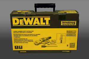 New Dewalt Dwh050k Large Hammer Drill Dust Extractor Hole Drilling Amp Cleaning