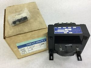 Hevi duty Electric W750 Control Transformer 750 Kva Type Sbw New Free Ship