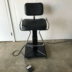 Reliance 2000 Multipurpose Chair With Corded Foot Pedal And Removable Caster Kit