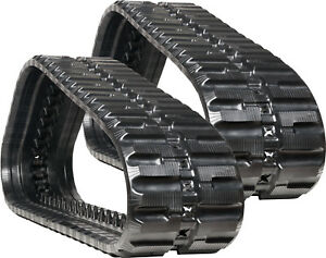 Takeuchi Tl130 tl230 Skid Steer Heavy Duty C Pattern Rubber Tracks 320x86x52