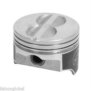 Speed Pro Chevy 400 Hypereutectic Flat Top 4vr Pistons Moly Ring Kit 10 9 1 Std