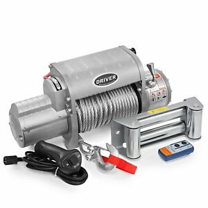 Ld12 Elite Electric Heavy Duty Recovery Winch 12000 Lbs Capacity Wireles