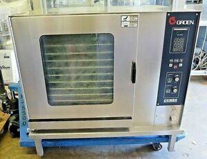 Groen C 2 20e Commercial Electric Convection Combo Steam Oven W Stand