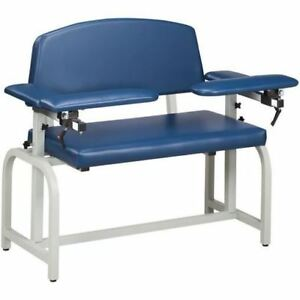 Clinton Lab X Extra Wide Padded Blood Drawing Chair