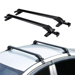 43 Car Roof Rack Top Luggage Cross Bar Carrier Adjustable Aluminum Window Frame