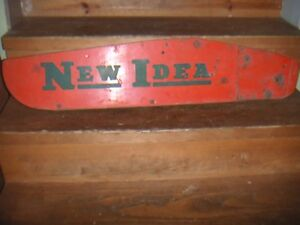 New Idea Sickle Bar Mower Grass Board Authentic Early Mid Century Board Vhtf