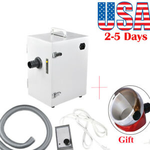 Dental Digital Single row Dust Collector Collecting Vacuum Cleaner Lab Device Ce