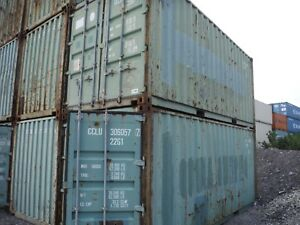 Shipping Container Used 20ft in Chicago