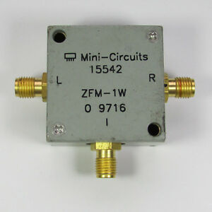 1pc Mini circuits Zfm 1w 10 750mhz Sma Rf Microwave Coaxial Frequency Mixer
