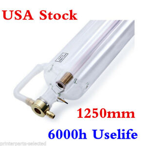 Usa Stock Efr F2 80w Co2 Laser Tube 1250mm For Laser Engraver Machine 6000h