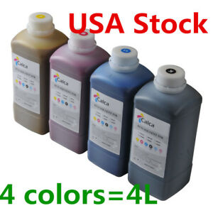 Usa Stock Calca Compatible Roland Eco Solvent Ink 4l 4colors
