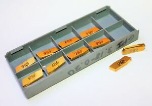 Iscar 06400662 Ic656 Carbide Inserts lot Of 10