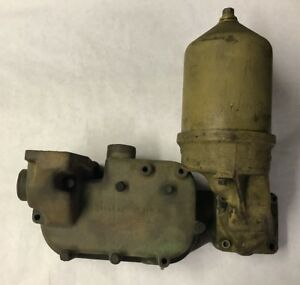 Detroit Diesel 3 53 Oil Cooler And Filter Assembly