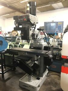 Kent Ktm 5vkf 3 Axis Cnc Knee Mill Acu rite Control Year 2014