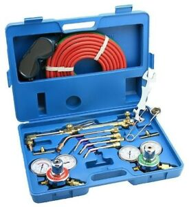 Arksen Gas Welding And Cutting Torch Kit Professional Set Victor Type Case