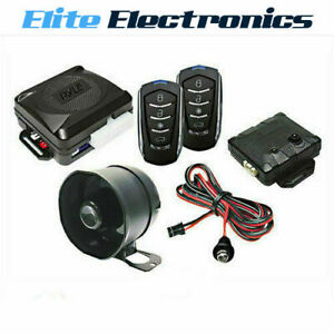 Pyle Pwd701 4 Button Remote Door Lock Car Vehicle Alarm Security System Led