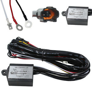 Drl Daytime Running Light Dimmer Dimming Relay Control Switch Harness 12v On Off