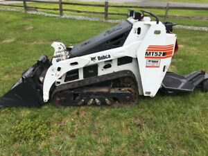 2015 Bobcat Mt52 Track Skid Steer With Bucket Only 51 Hours
