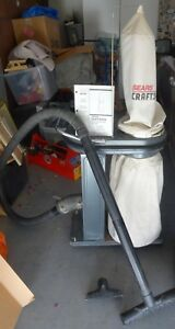 Craftsman Dust Collector With Instruction Manual Complete Nice Condition 1 Hp