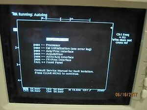 Tektronix Tds540 Digital Oscilloscope