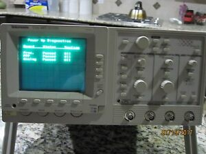 Tektronic 485 200mhz Four Chanels Oscilloscope