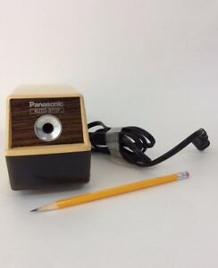Panasonic Kp 100 Electric Pencil Sharpener Auto stop Tested Works Great Vintage