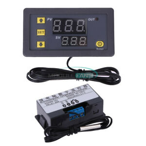 W3230 Lcd Digital 12v 20a Thermostat Temperature Controller Meter Regulator